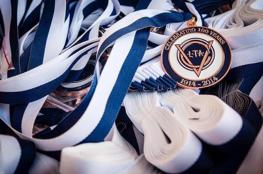 VCLTA 100 year medals